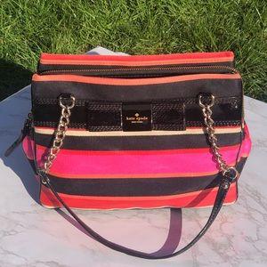 Kate Spade Pink/Black Shoulder Bag